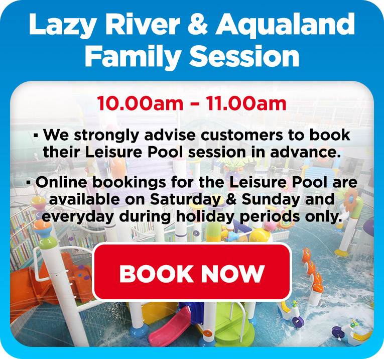 Lazy River & Aqualand Family Session