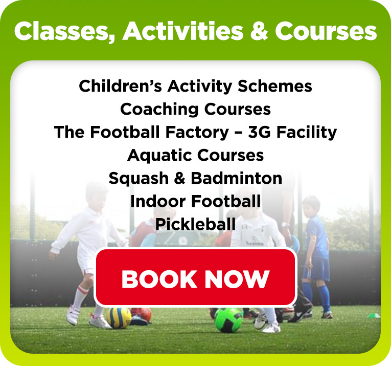 Classes, Activities & Coaching Coaches