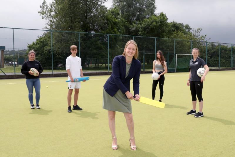 Local teens enjoy 3 days of sport at Lough Moss Leisure Centre
