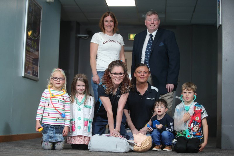 Lagan Valley LeisurePlex Launches Paediatric First Aid Courses