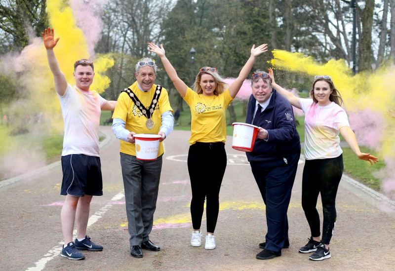 Experience the 5k Color Run at Wallace Park, Lisburn!