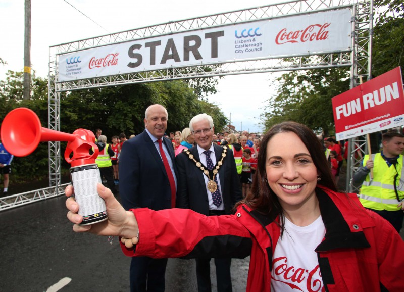 THOUSANDS OF RUNNERS COMPLETE THE LISBURN COCA-COLA HBC HALF MARATHON, 10K & FUN RUN