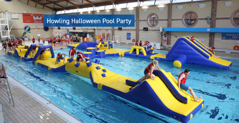 Howling Halloween Pool Party at Lagan Valley LeisurePlex
